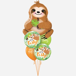 You're Slothsome Balloon Bouquet