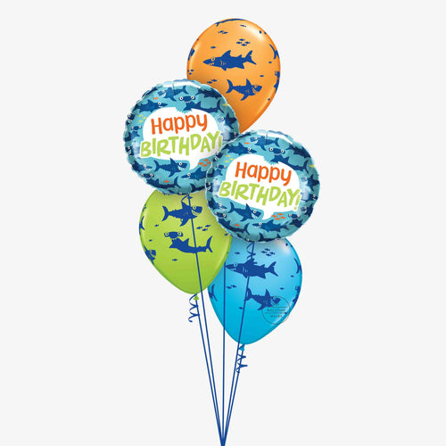Fin-tastic Shark Balloon Bouquet