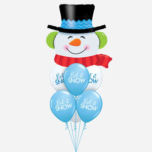 Snowman Balloon Bouquet