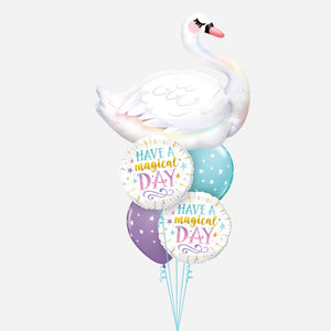 Majestic Swan Balloon Bouquet