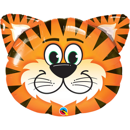 Tickled Tiger Foil Balloon