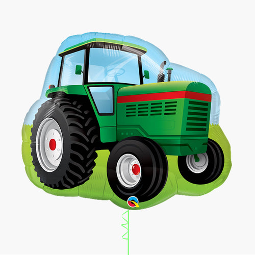 Farm Tractor Large Foil Balloon
