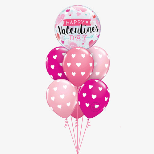 Balloon Bouquet Valentines Heart