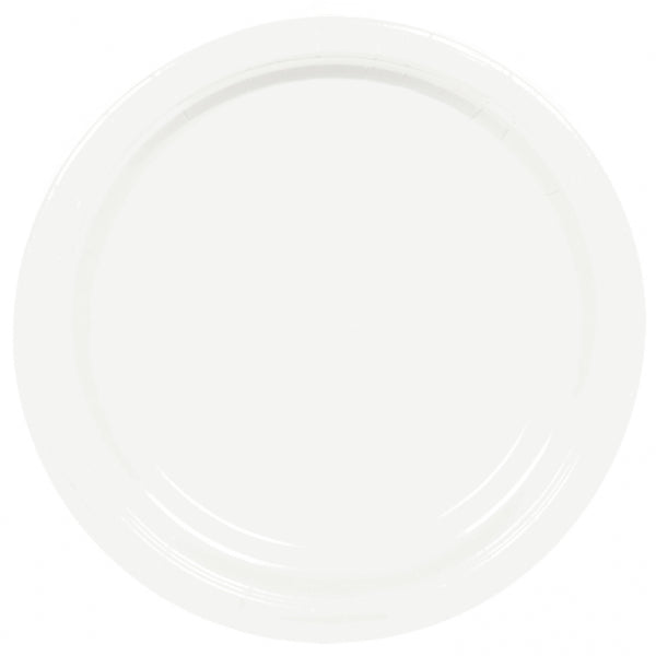 White Paper Plates (8 pack)