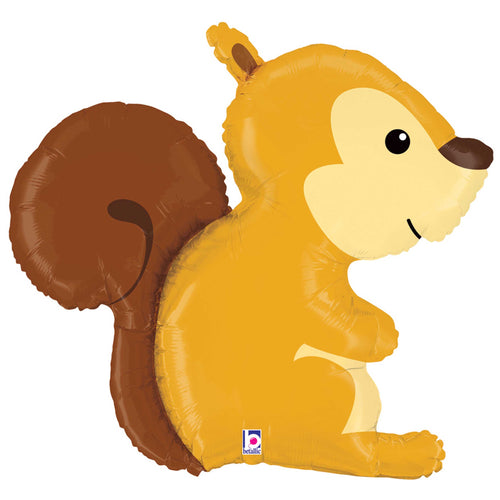 Woodland Squirrel Foil Balloon