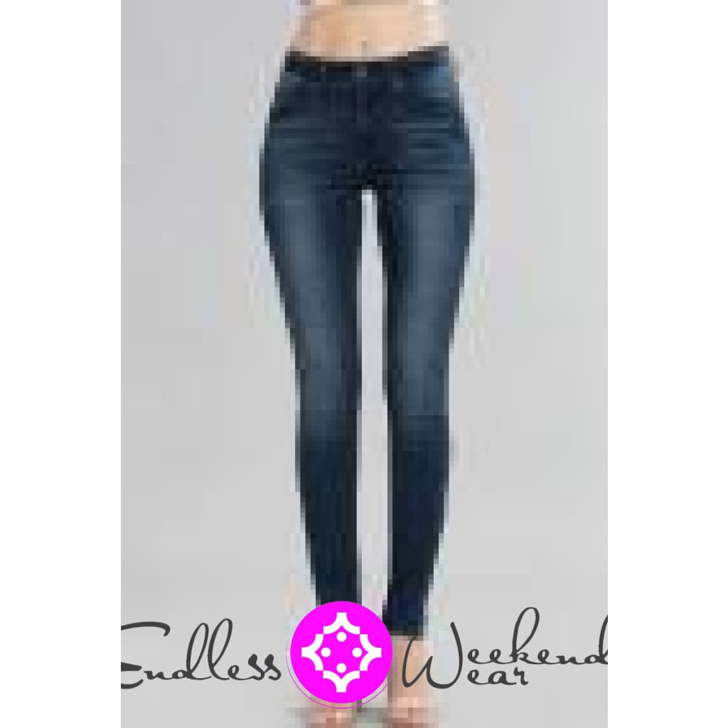 Dark Denim Kan Can Skinny Jeans - Jeans