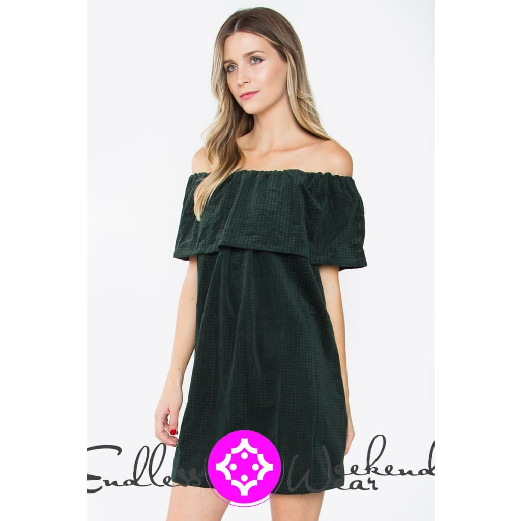 Jillian Off The Shoulder Dress - Dress