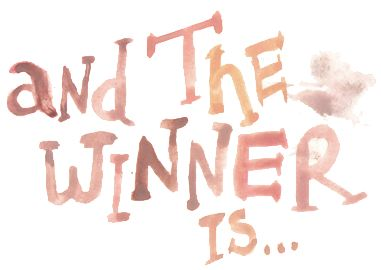 And The Winner Is.....