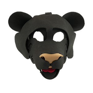 Bear Masks-Brown & Black