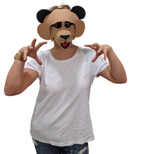 Load image into Gallery viewer, Bear Masks-Brown & Black