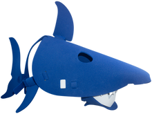 Load image into Gallery viewer, Shark Masks Blue and Grey