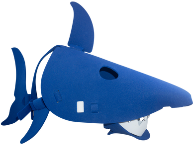 Shark Masks Blue and Grey