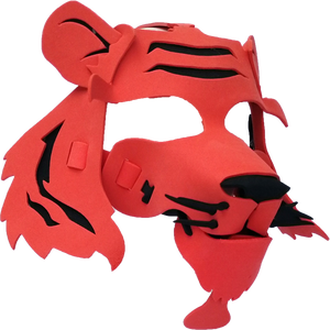 Tiger Masks- Orange & Yellow