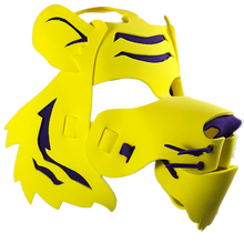 Load image into Gallery viewer, Tiger Masks- Orange & Yellow