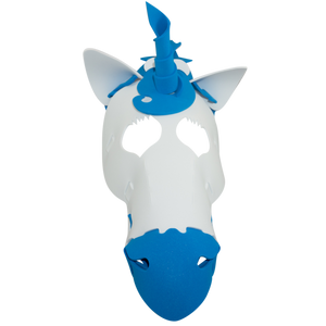 Unicorn Masks Pink and Blue