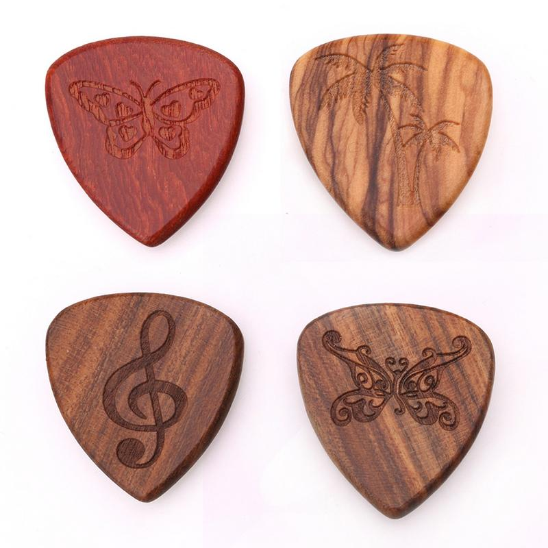 Wooden Guitar Pick