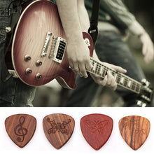 Load image into Gallery viewer, Wooden Guitar Pick