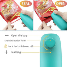 Load image into Gallery viewer, Mini Portable Bag Heat Sealer & Cutter