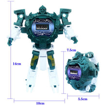 Load image into Gallery viewer, 3-in-1 Transforming Robot Projection Watch