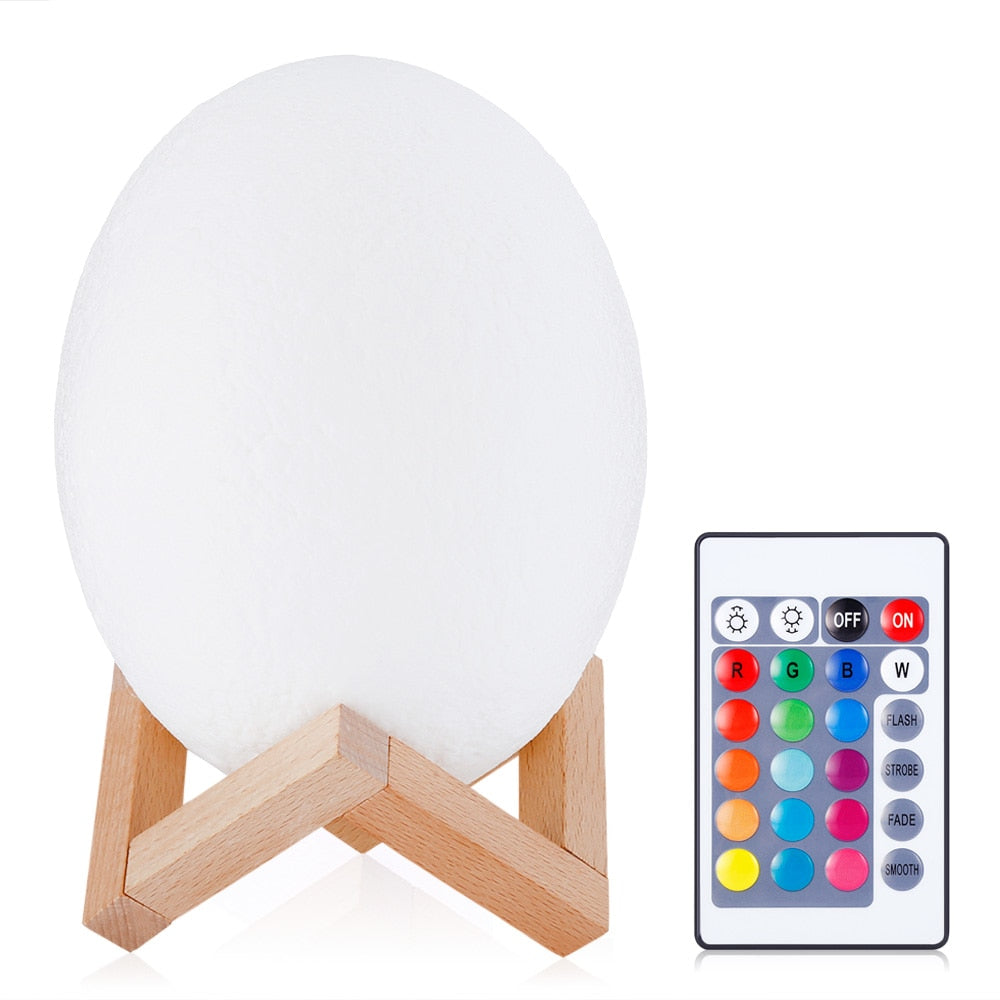 3D Print Color Changing Dinosaur Egg Lamp