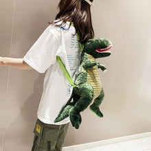 Load image into Gallery viewer, Waterproof Dinosaur Plush Backpack
