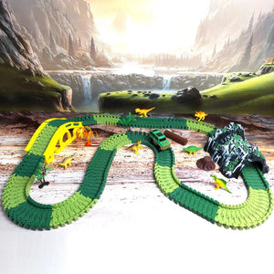 Dinosaur World Track Set Toy