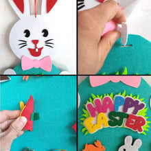Load image into Gallery viewer, DIY Felt Easter Bunny with Ornaments