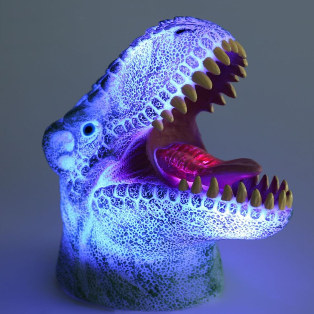 Color Changing 3D Dinosaur Lamp