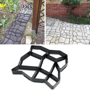 Reusable Concrete Path Maker Mold