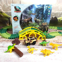 Load image into Gallery viewer, Dinosaur World Track Set Toy