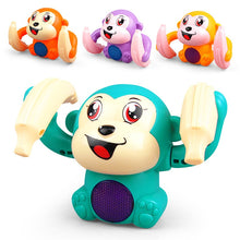 Load image into Gallery viewer, Voice-Activated Rolling Monkey Toy