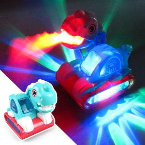 Spray Dinosaur Excavator LED Toy