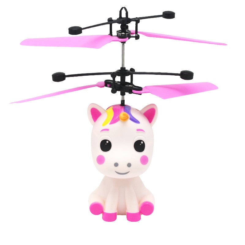 Flying Baby Unicorn LED Induction Toy