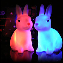 Load image into Gallery viewer, Color Changing LED Easter Bunny