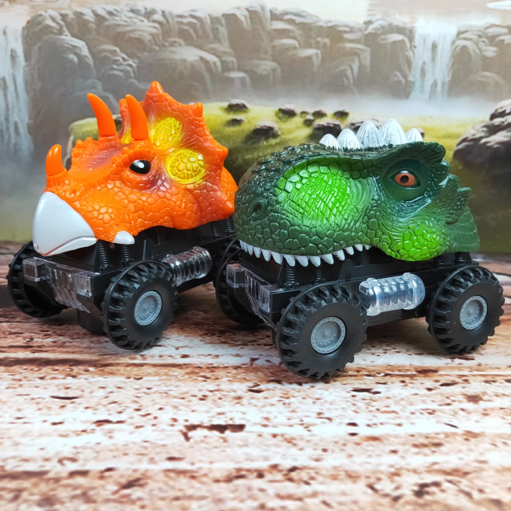 LED Dinosaur Car with Sound