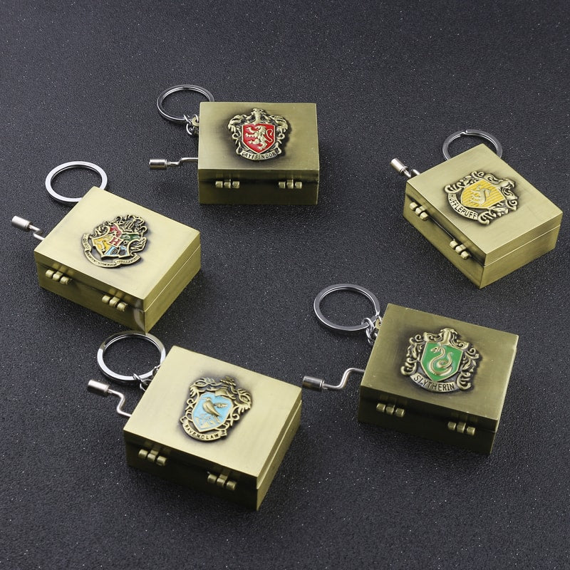 The House Music Box Keychain