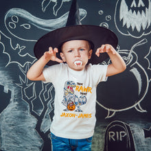 Load image into Gallery viewer, Mummysaurus Personalized Halloween T-Shirt