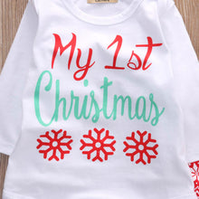 Load image into Gallery viewer, My 1st Christmas Baby Suit