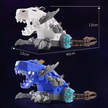 Load image into Gallery viewer, Mechanical LED Spray Dinosaur Toy