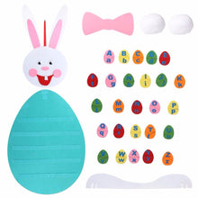 Load image into Gallery viewer, DIY Felt Easter Bunny with Alphabets