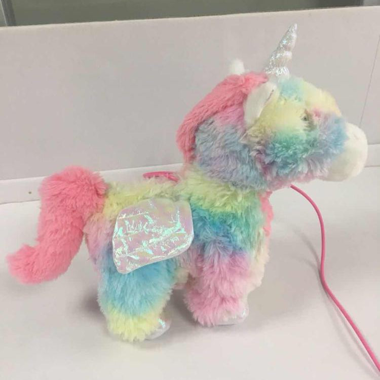 Walking Rainbow Unicorn Toy