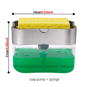 Soap Dispenser & Sponge Holder