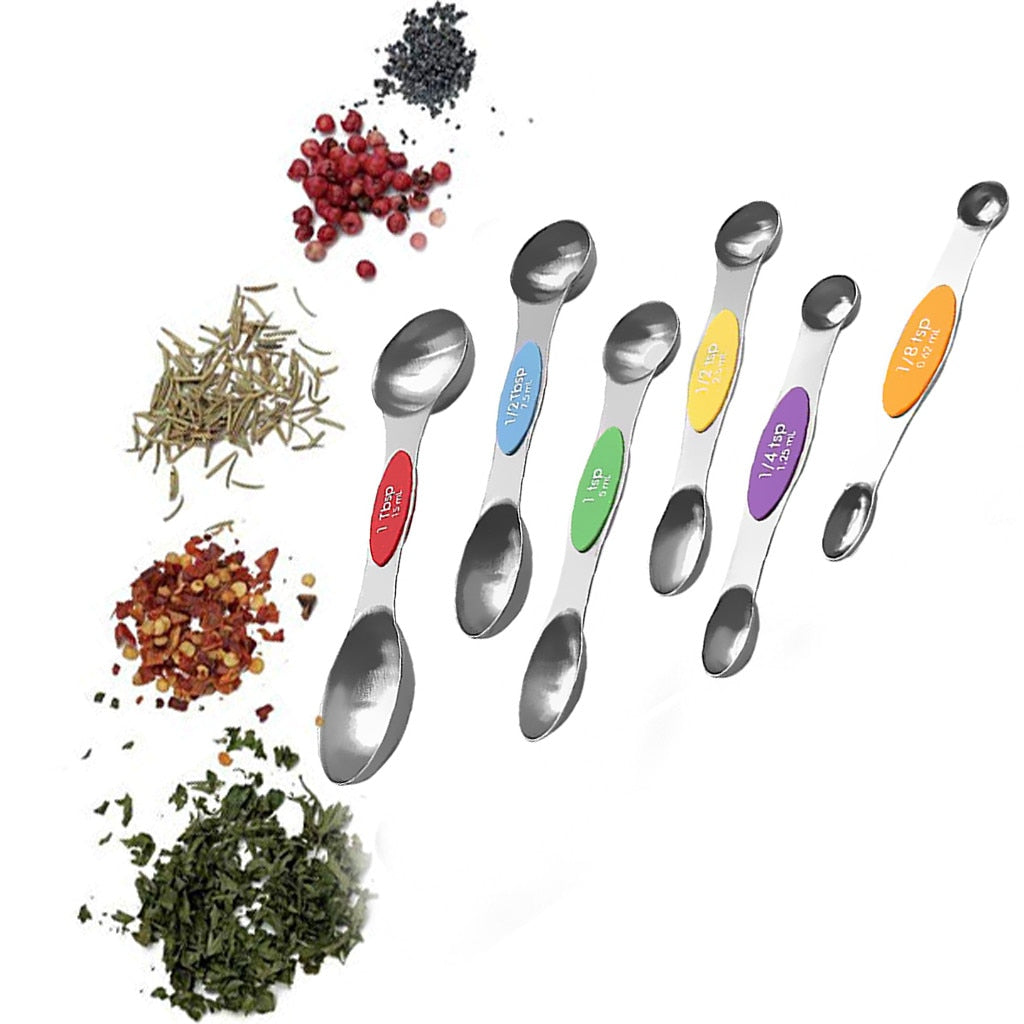 Magnetic Measuring Spoon (Set of 6)