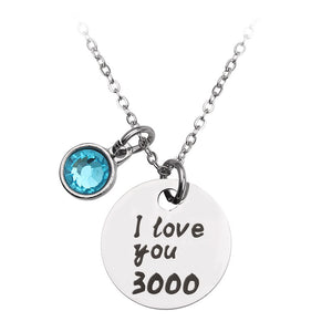 I Love You 3000 Pendant