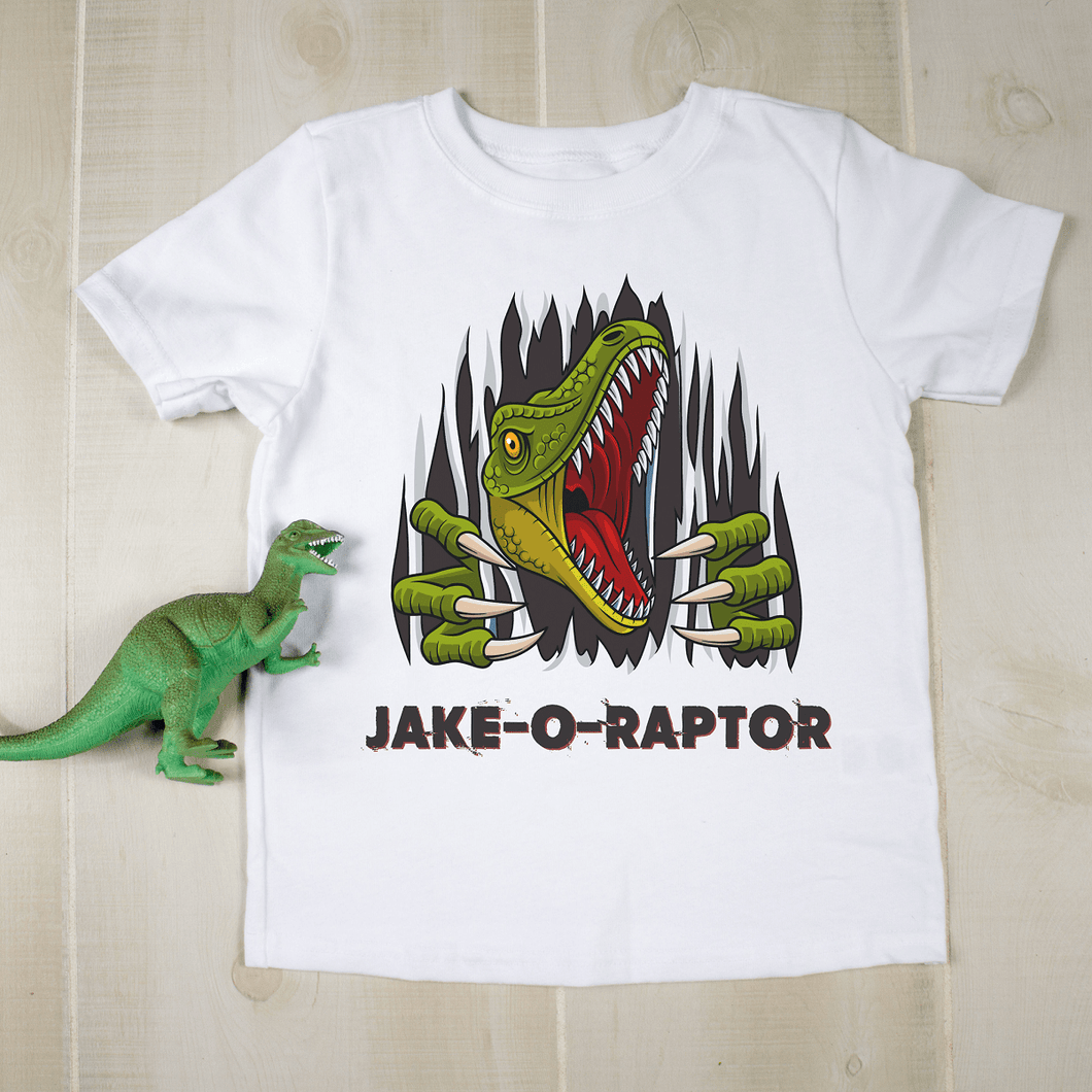 Velociraptor Personalized T-Shirt