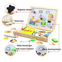 Load image into Gallery viewer, Multifunctional Magnetic Puzzle & Drawing Board