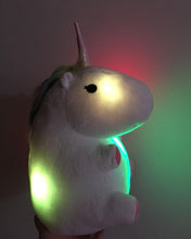 Load image into Gallery viewer, Glowing Unicorn Plush Toy