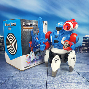 Musical Robo Warrior LED Toy