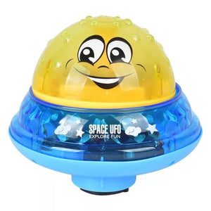 Space UFO Sprinkler Bath Toy