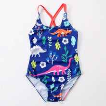Load image into Gallery viewer, Dinosaur One Piece Swimsuit